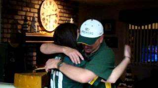 Repeat youtube video Superbowl surprise for father