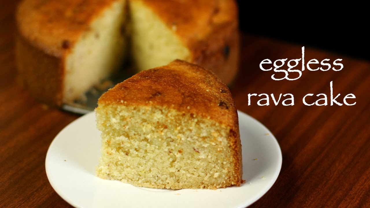 Cake Recipes In Otg Youtube: Semolina Cake Recipe