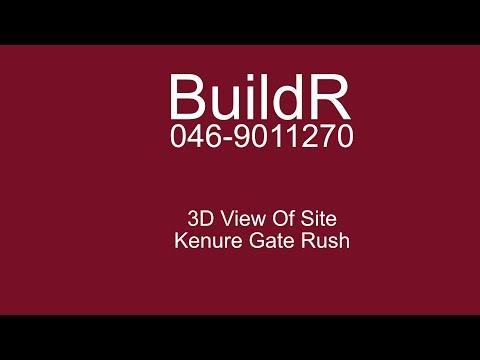3D Model of Site Kenure Gate Rush Co Dublin