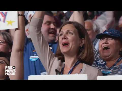 Sen. Barbara Mikulski nominates Hillary Clinton at 2016 Democratic National Convention
