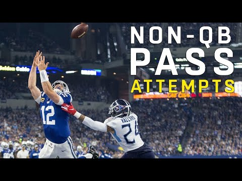 Every Non-QB Pass Attempt of the 2018 Season