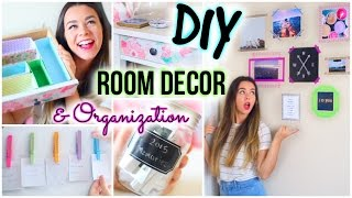Diy Room Decor & Organization For 2015!