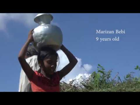 Ensuring water supply at Rohingya camps
