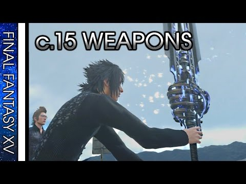 FINAL FANTASY XV · CHAPTER 15 TREASURE LOCATIONS Video Guide (Weapons / Accessories)
