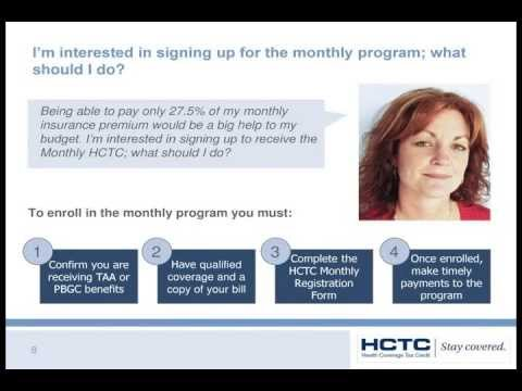 HCTC Overview For Trade Layoff Event