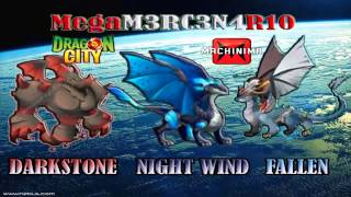 NUEVOS DRAGONES DARK STONE, NIGHT WIND , FALLEN