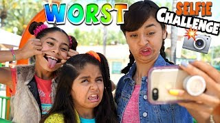 Worst Selfie Challenge - Instagram : Challenges // GEM Sisters