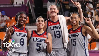 Team USA puts the clamps on ROC to bring home women's 3x3 gold | Tokyo Olympics | NBC Sports