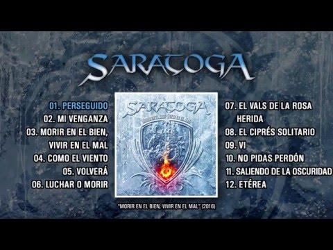 """SARATOGA """"Morir En EL Bien, Vivir En El Mal"""" (Álbum completo)"""