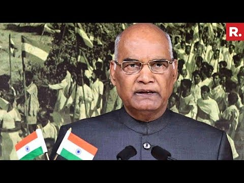 President Ram Nath Kovind's Speech On The Eve Of Independence Day