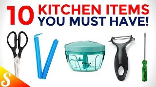 10 Must have Kitchen Items (with Price) to Make Your Life Easy