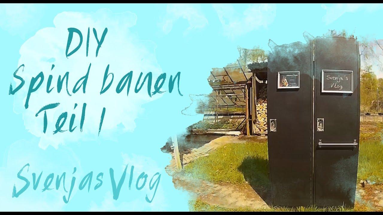 DIY || Spind selber bauen || Teil 1 || Svenjas Vlog - YouTube