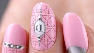 Мастер-класс дизайн ногтей. Розовый маникюр.