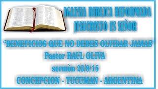 "JESTUCUMAN-""BENEFICIOS QUE NO DEBES OLVIDAR JAMAS""22/8/15"