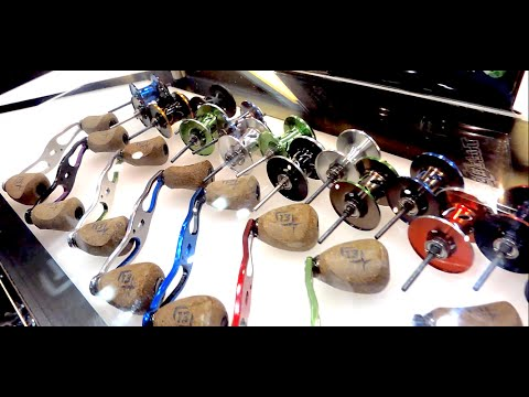 Customize Your Reels w/ 13 Fishing Trickshop (iCast 2015)