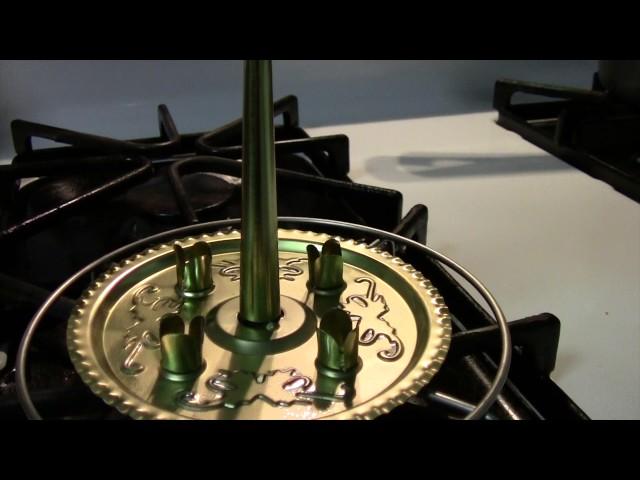 light bell pyramid or Lichter glocken spiel