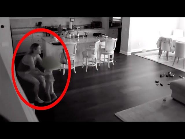 10 Creepiest Moments Caught On CCTV