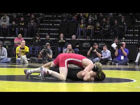 125 lbs Thomas Gilman, IOWA vs Tim Lambert, NEB