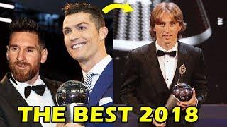 4 Peores Errores que estuvieron Presentes en los premios THE BEST 2018