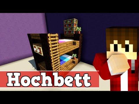 Gut gemocht Wie baut man ein Hochbett in Minecraft | Minecraft Hochbett bauen CL78