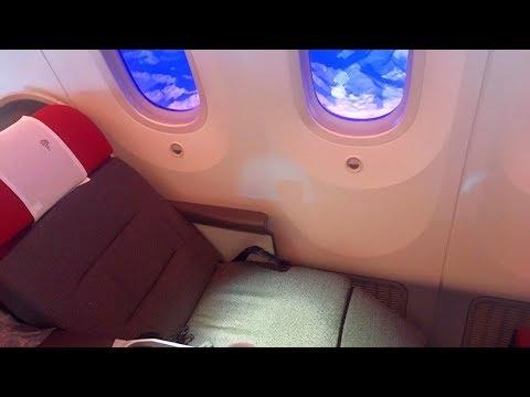 Inside LATAM Boeing 787-9 Dreamliner in Business Class