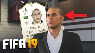 WHAT IF ICONS WERE IN FIFA 19 CAREER MODE?