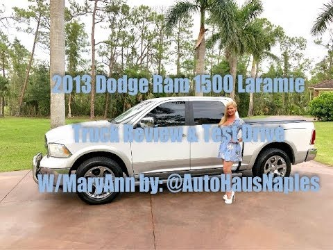 sold 2013 dodge ram 1500 laramie 4x4 crew cab review test drive w maryann autohausnaples. Black Bedroom Furniture Sets. Home Design Ideas