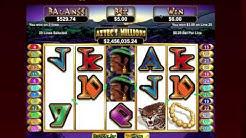 🎰 Another $100 cash win @ BOVEGAS casino! Aztec's Millions online progressive | best online slots