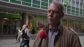 Muslime für Frieden - Ahmadiyya Flyer Aktion in Koblenz