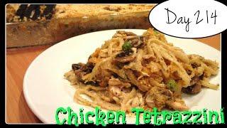Chicken Tetrazzini Recipe DAY 214