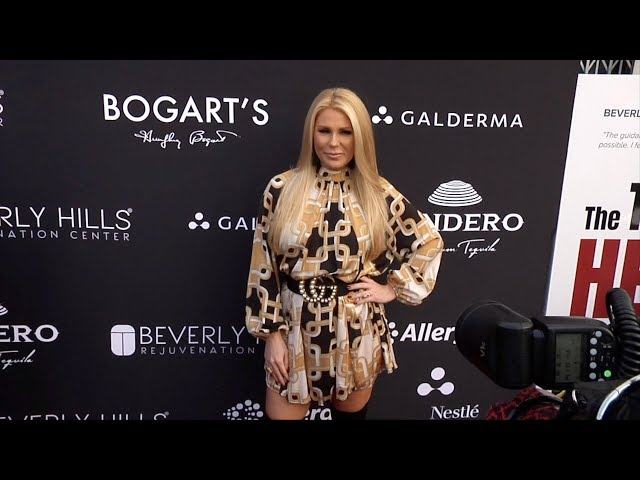 Gretchen Rossi BHRC's Eternal Beauty VIP Celebration Red Carpet