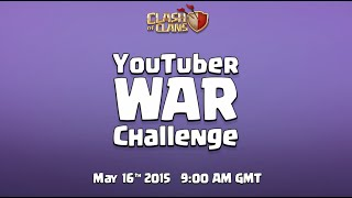 Clash of Clans YouTuber Clan War Challenge! Preparing for war in Clash of Clans