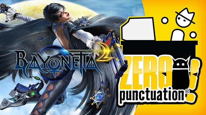 bayonetta 2  sheer joyful energy zero punctuation