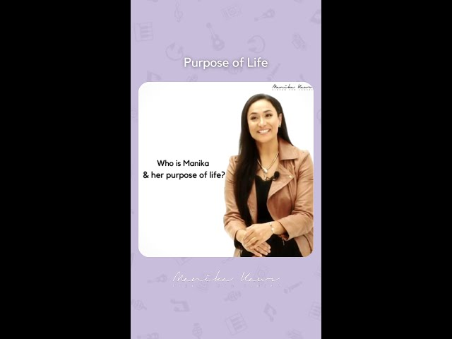 Who is Manika | Her purpose in life #shorts