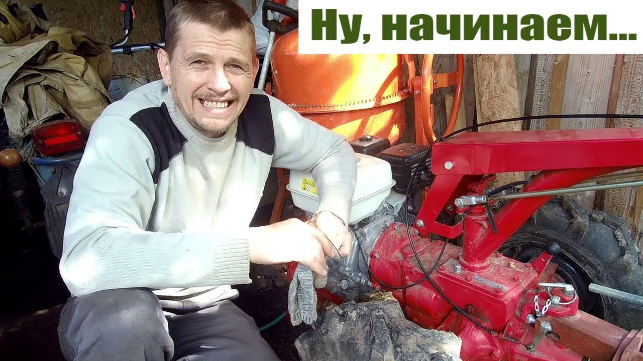 """Битва за """"второй хлеб"""" с мотоблоком мтз Беларус 09Н на урожайном огороде 2020"""