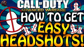 how to get easy headshots in advanced warfare get diamond royalty camos quick cod aw tips