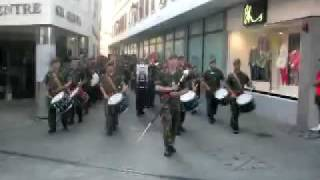 The Band & Drums of the Royal Gibraltar Regiment - Mechanized Infantry