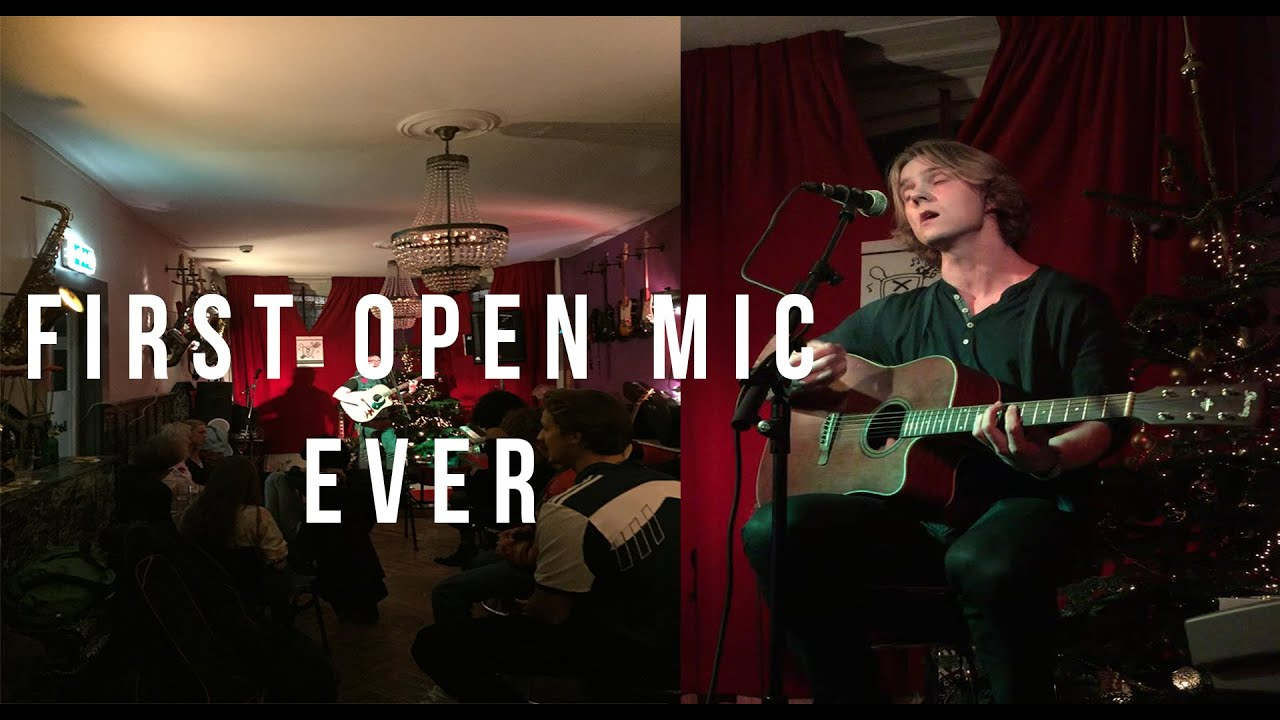 Download First Open Mic Performance - Meverick