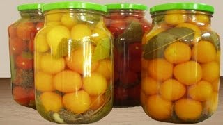 Как консервировать помидоры 2. | As canned tomatoes 2.