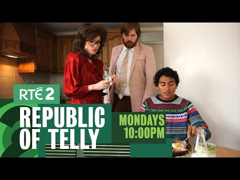 Bridget & Eamon Foreign Student | Republic of Telly | Mondays 10pm RTE2