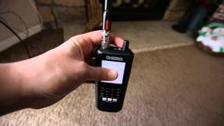 Review of the Uniden BCD436 Scanner