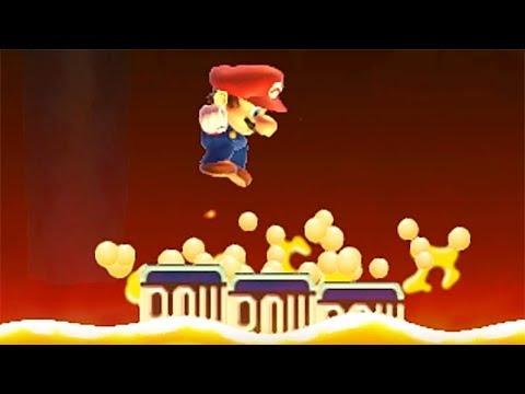 The floor is lava / Super Mario Maker / Directo