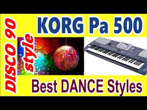 KORG Pa500~стили ДИСКО~DANCE factory Korg styles~Demo Review~обзор стилей~italo disco