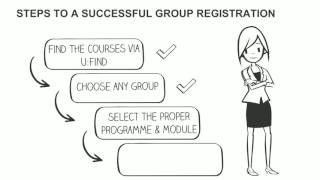 Course registration – How to register for courses with groups