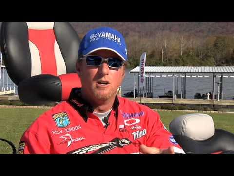 Yamaha Pro Angler & BassMaster Elite Series Pro Kelly Jordan on V MAX SHO