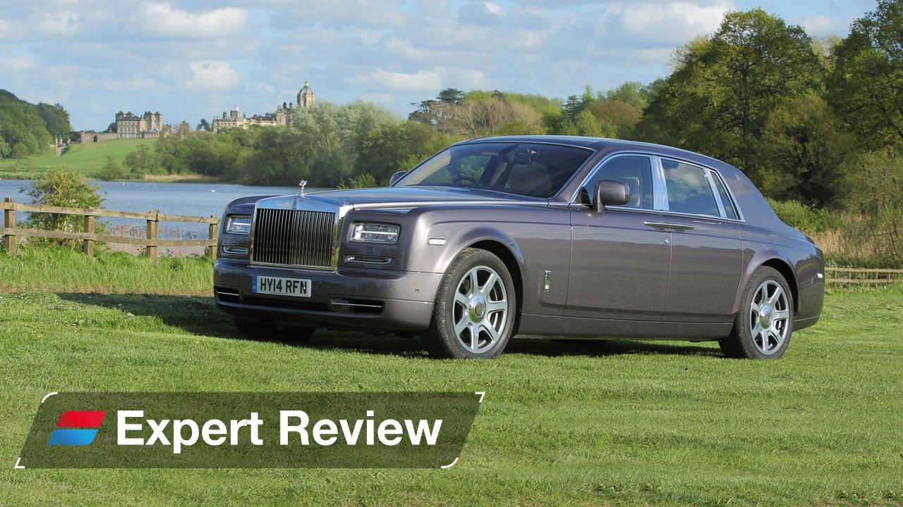 Rolls-Royce Phantom saloon expert car review - YouTube