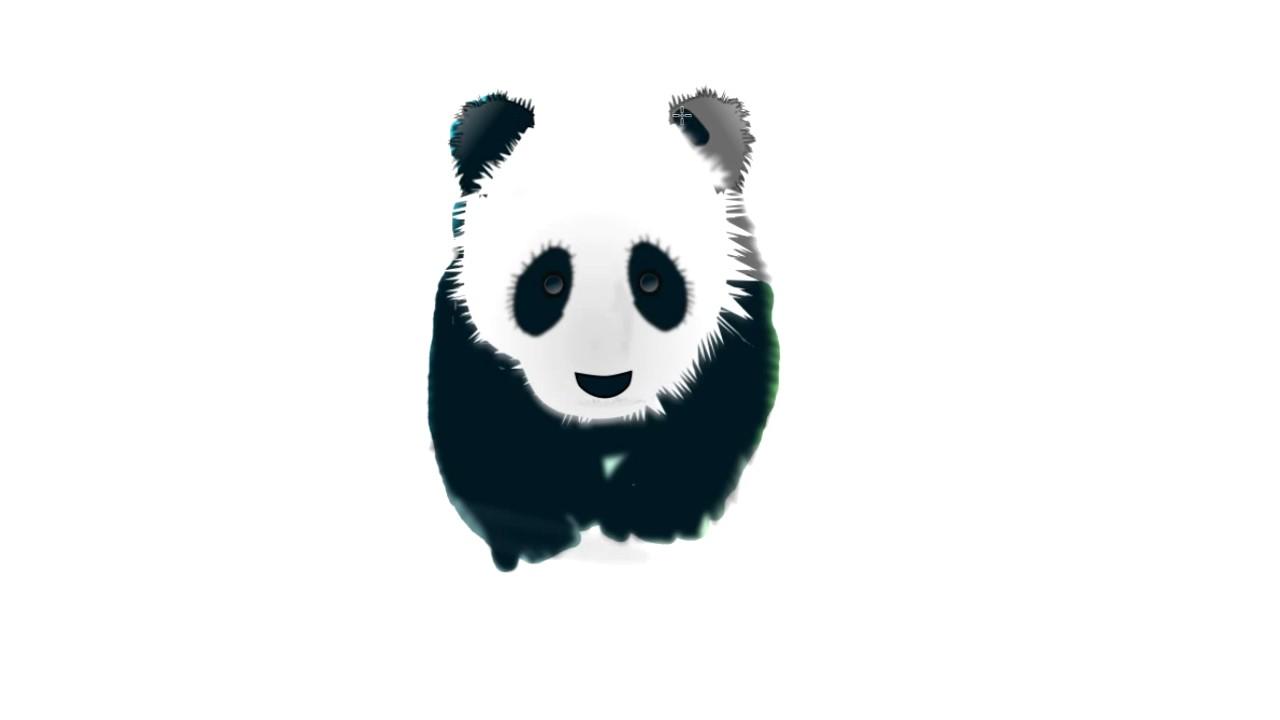 Panda Desenho Colorir Panda Pintar Para Criancas Desenhos