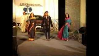 fashion show saree tata indigo launch 2002 by planet ten kolkata