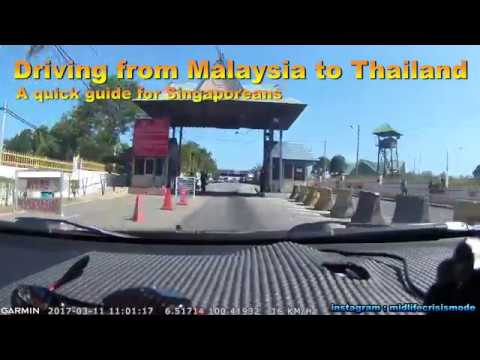 Driving From Singapore To Thailand - What you need to know in 1 minute.