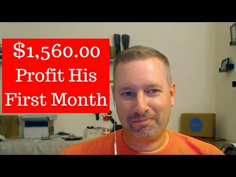 Bill Made $1,560.00 Profit His First Month - eBay Dropshipping Titans!